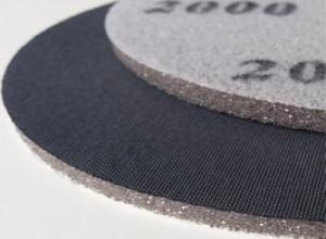 Шлифовальные диски на липучке на поролоне