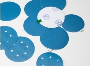 Шлифовальные диски на липучке на пленке